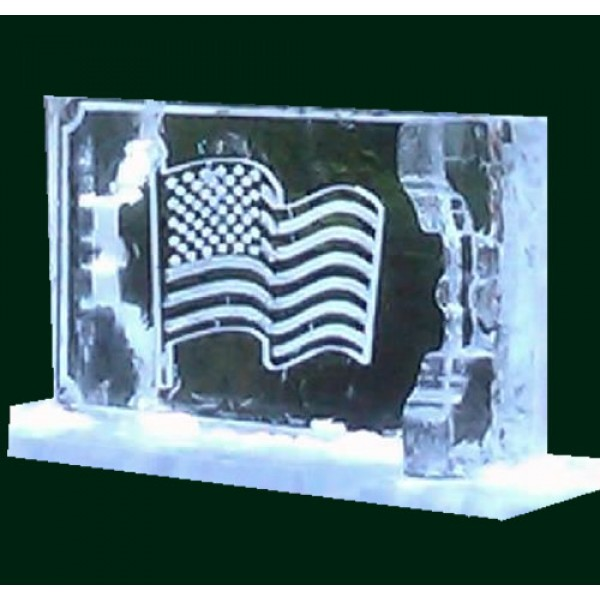 Any Flag Ice Sculpture