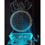 Chinese Symbol/Calligraphy Ice Sculpture or Luge