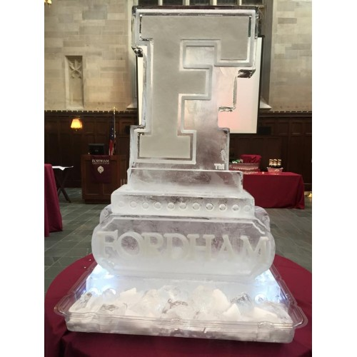 Any Or Letter Ice Sculpture Or Luge