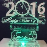 Holiday Theme Ice Sculptures