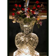 Vase Ice Sculpture or Luge