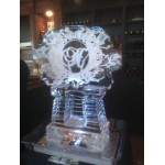 Letter Ice Sculpture