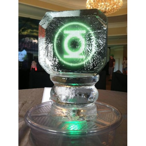table centerpieces wedding ice sculpture and ice luges