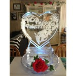 Heart Table Centerpiece 2