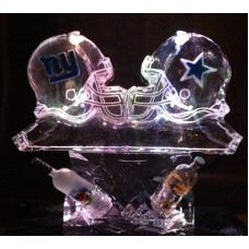Customized Football Helmet Luge 4