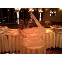Grand Piano Ice Sculpture