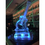 Guitar Ice Sculpture