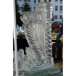 Harp Ice Sculpture