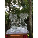 Luau Theme Ice Sculpture