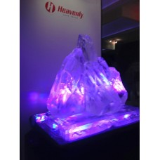 Mountain Ice Sculpture or Luge