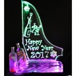 New Year Theme Double Luge