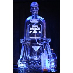 Patron Bottle Ice Luge