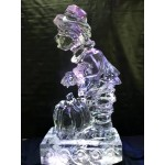 Pilgrim Boy Ice Sculpture