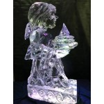 Pilgrim Girl Ice Sculpture