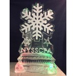 Winter Theme Ice Sculpture