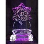 Star of David Ice Sculpture