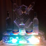 Vodka-Caviar Display Ice Sculpture