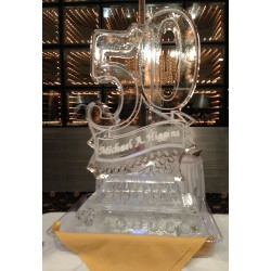 Any Number Ice Sculpture or Luge