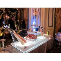 6' Ft Seafood Display
